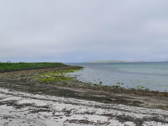Sands of Evie and Rousay near Broch of Gurness