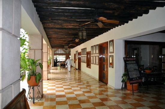 Hotel & Bungalows Mayaland: Restaurant gateway offame