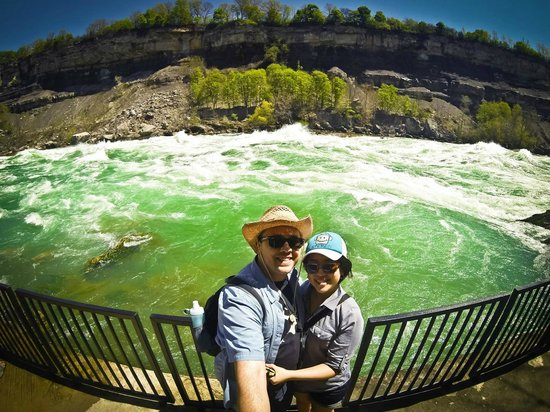 White Water Walk : Up close and personal with the green waters