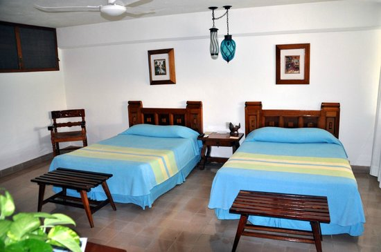 Hotel & Bungalows Mayaland: Queen's beds