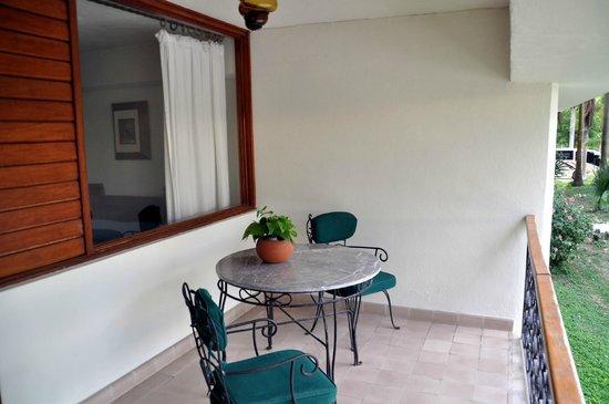 Hotel & Bungalows Mayaland : Balcony