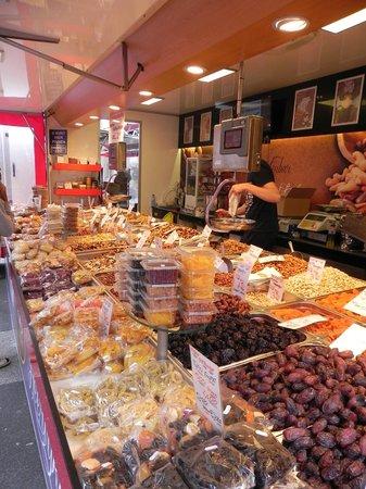 Albert Cuyp Market : Frutta secca di qualsiasi tipo