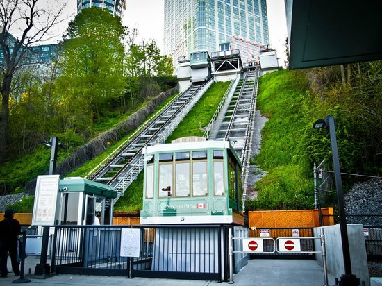 Falls Incline Railway: Rest your legs for $2.50/person.
