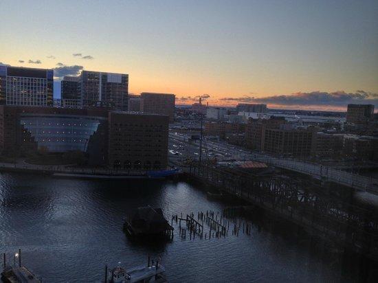 Boston Harbor Hotel: excellent harbor view!