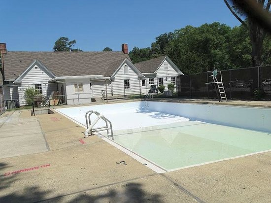 Pool Behind Historic Clubhouse Picture Of Forest Hills Park Durham Tripadvisor