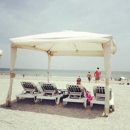 Omni Amelia Island Plantation Resort : Cabana rental