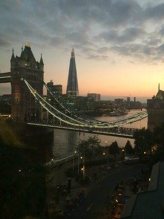 The Tower: A Stunning Sunset View From The Room!