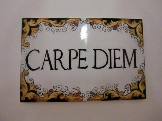 "La Dolce Vita: Наш номер ""Carpe Diem"""