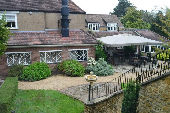 The Eastbury Hotel : View from our room