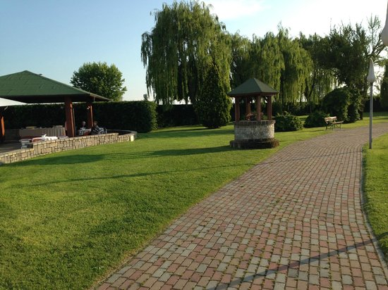 Lago dei Salici: giardino