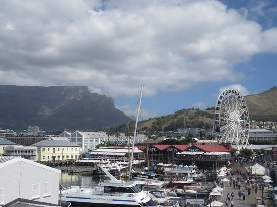 The Table Bay Hotel: View from room