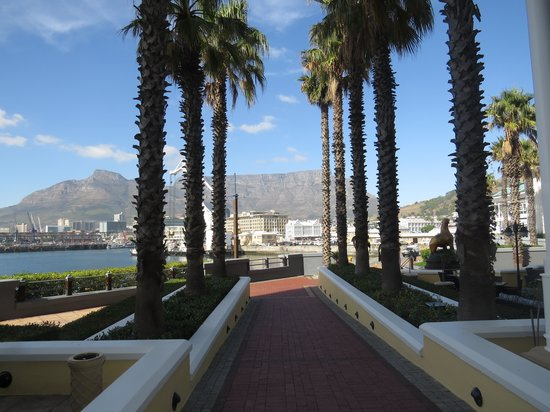The Table Bay Hotel: View from breakfast table