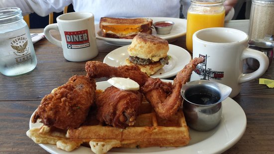 The Fremont Diner: The spread!