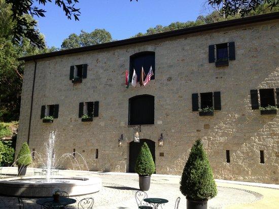 Buena Vista Winery: Restored barrel room
