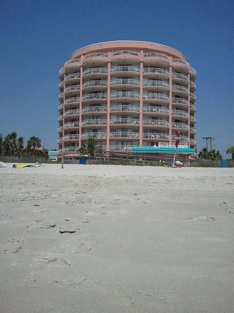 St. Clements Suites: View from beach