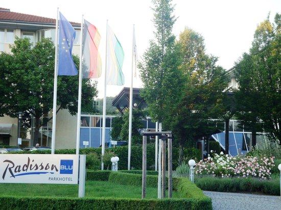 Radisson Blu Park Hotel & Conference Centre, Dresden: Отель Radisson BLU Parkhotel Dresden Radebeul