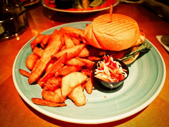 Bimini Road: Classic Grilled Chicken Sandwich with Jerk Sauce
