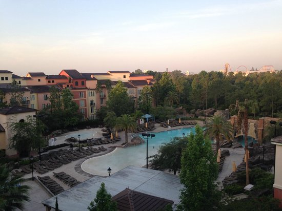 Loews Portofino Bay Hotel at Universal Orlando : Beach pool