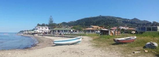 Katerina Palace Hotel : Argassi Coastline