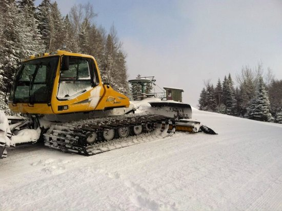 Big Squaw Mountain: Perfectly Groomed Trails with the BR350