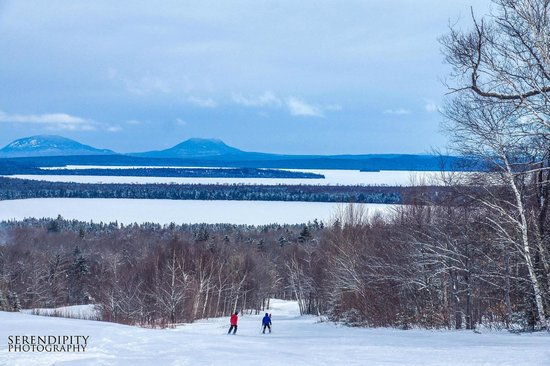 Big Squaw Mountain: View of Moosehead Lake and beyond.  Photo couresty of Serendipity Photography