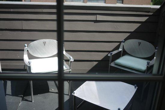 Hotel Veritas: our own balcony