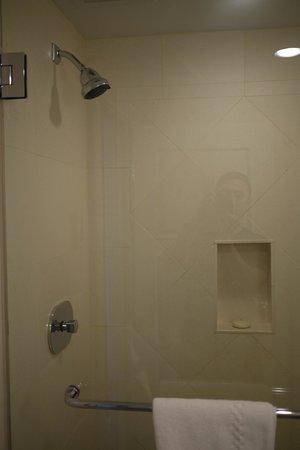 Hotel Veritas: shower