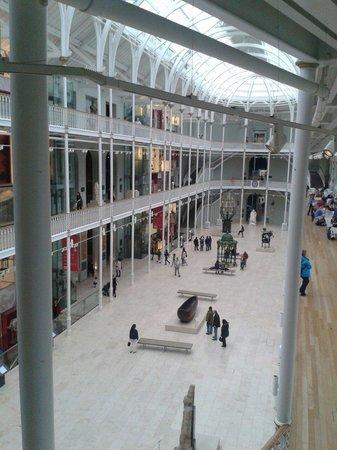 Museo Nacional de Escocia: Main hall