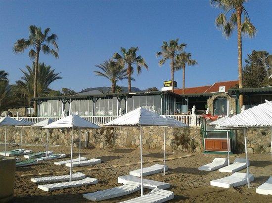 Topset Hotel: private beach