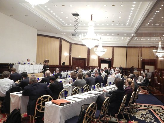 The Ritz-Carlton, Berlin: Meeting for 80 professionals held in Grand Ballroom I.