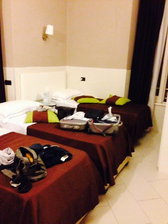 Hotel Indipendenza : camera