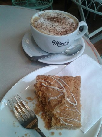 Mimi's Little Bakehouse: Cappuccino and peanut butter blondie