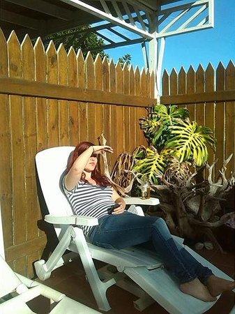 HomeBase Knysna: Catching some rays