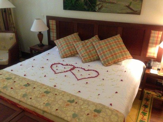 Victoria Angkor Resort & Spa: Habitación para recién casados
