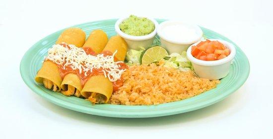 Las Palmas Mexican Restaurant: Enchiladas Tapatias