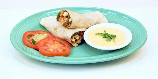 Las Palmas Mexican Restaurant: Grande Burrito Fajita