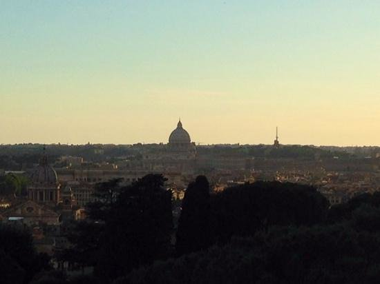 Sofitel Rome Villa Borghese: view from the bar