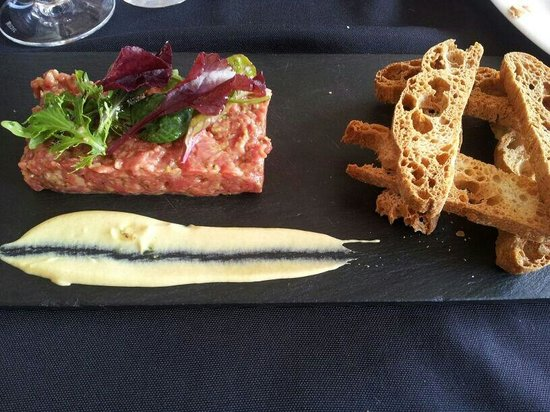Can Poal: Steak tartar.....increible!!!