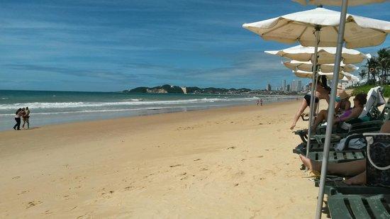 SERHS Natal Grand Hotel: praia