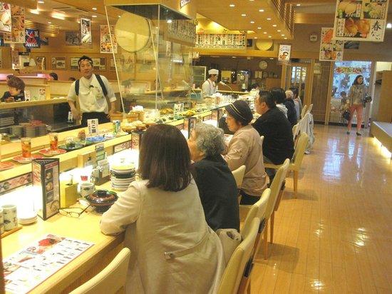Nagoyakatei Shiroishi Hondori: なごやか亭 - 店内2