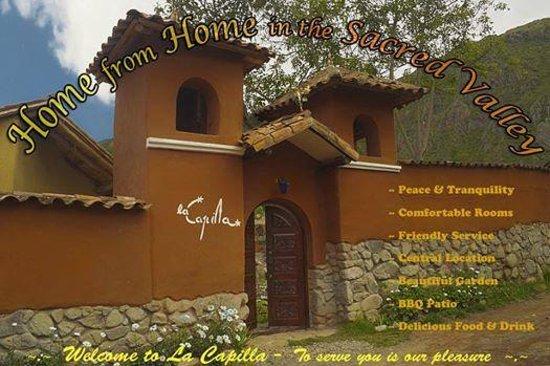 La Capilla Lodge: main door