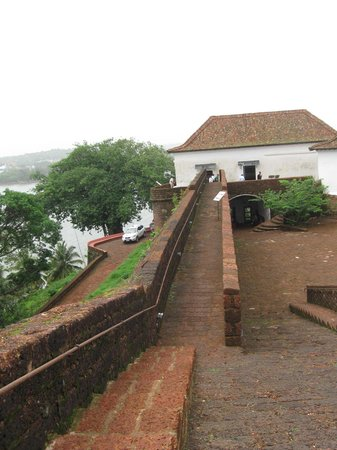 Reis Magos Fort: Inside the fort