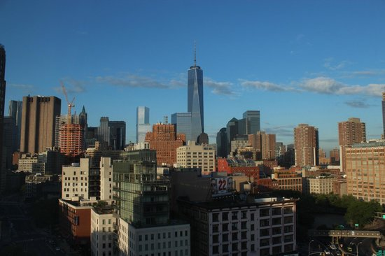The James New York: view from the room
