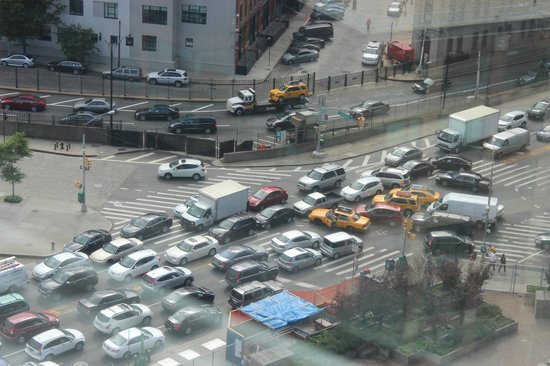 The James New York: NYC traffic