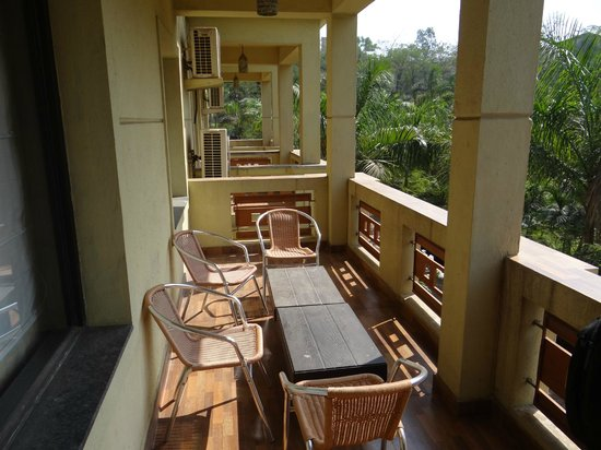Mystica Resort: Balcony