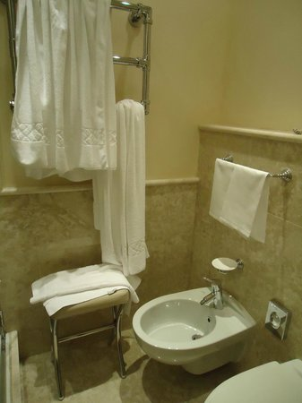 Starhotels Tuscany : Vista do banheiro