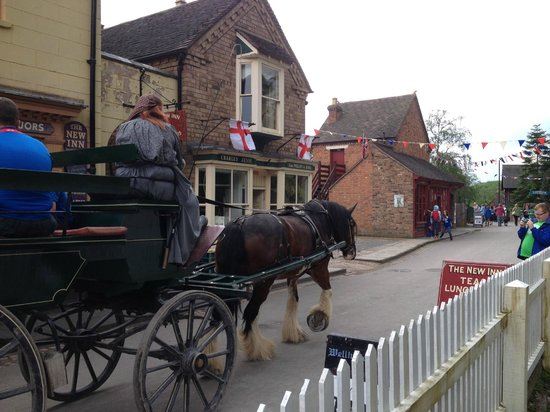 Blists Hill Victorian Town: View of main street