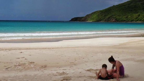 Playa Flamenco: Absolutely stunning water and views