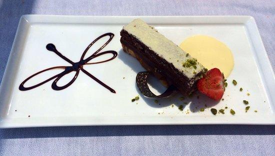 Bateau-Restaurant MS Libellule: Allumette au praliné