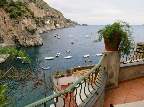 Hotel Onda Verde: View from the room